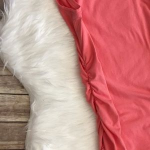 MICHAEL Michael Kors Tops - Michael Kors Shoulder Zipper Ruched Sleeveless Top